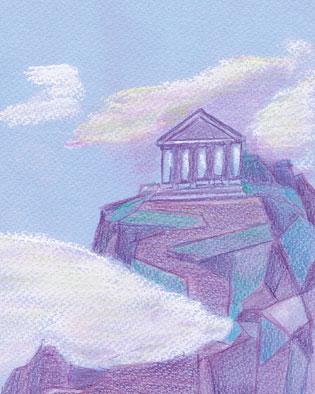 Lugares mitol gicos versiones para ni os for Jardines del olimpo